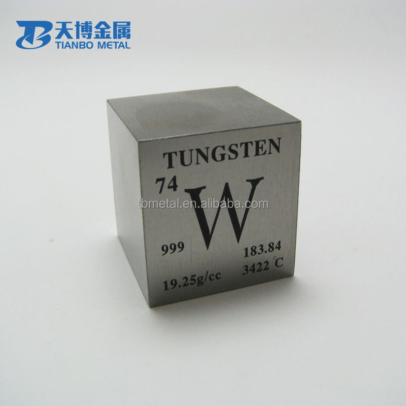 1.5*1.5*1.5 inch Tungsten Cube and polishing 1kg tungsten cube price per kg on sale