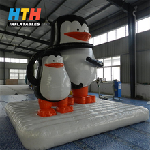 Attractive giant inflatable penguin