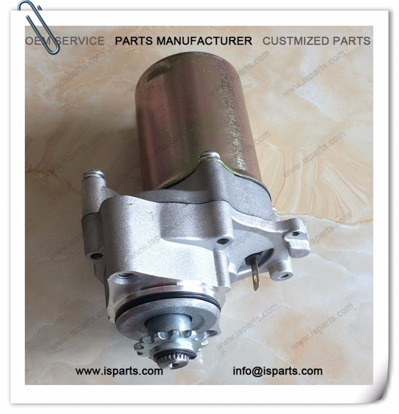 Wholesale atv parts 110cc 10T ATV electric stater motor