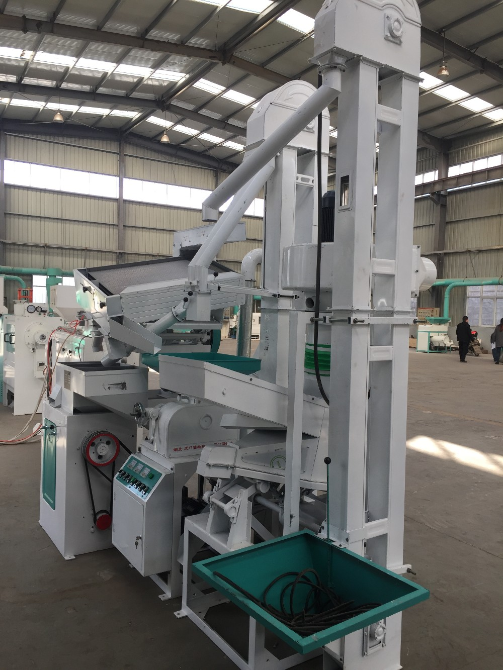 WT-15B Automatic Rice Mill Polishing Machine for Sale