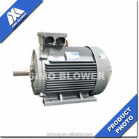 Hot sales Low voltage fan-cooled closed squirrel-cage electric motor