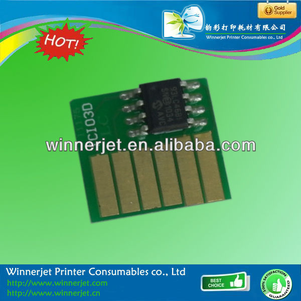 For Canon W6400 W6200 W7250 printer chip one time use chips