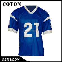 Fashion Polyester Custom American Football Jersey Design