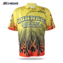 Custom Sublimation Team T Shirt Motocross