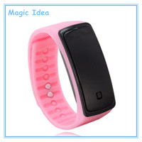 Fashion Digital Sport Silicone LED Watch with Different Colors