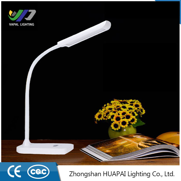 2016 High quality Modern Table Lamp Wireless Touch Dimmable Led Desk Lamp