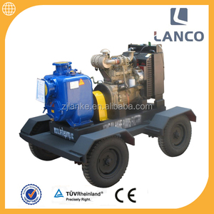 Lanco H type High pressure self priming centrifugal 6 inch diesel engine water pump set