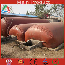 6m3 - 50m3 Household Portable Biogas Plant Easy To Install Biodigester Cooking Fuel Application Cow Dung
