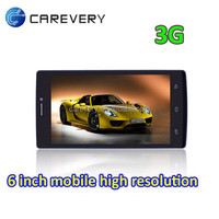 Ultra slim android smart phone tablet phone 6 inch mtk6572 android mobile calling tablet