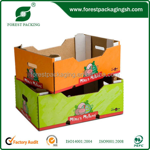 Continued hot pro-green colored fruit and vegetable boxes/bins/containers