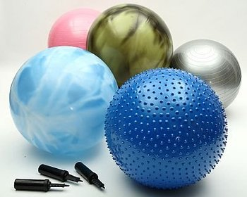 Fitness 65cm Yoga Ball with CE certificate and ROHS