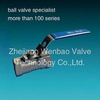 ball valve valve ibc container small size Ball Valve with Locking handle