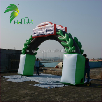 Professional Customize Inflatable Finish Line / Inflatable Arch