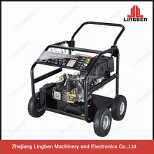 LingBen 250Bar Mini Jet Power Portable Electric Gasoline Honda High Pressure Car Washer Cleaner Good Quality Low Price