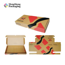 Custom Logo printing corrugated cardboard packaging shipping mail box