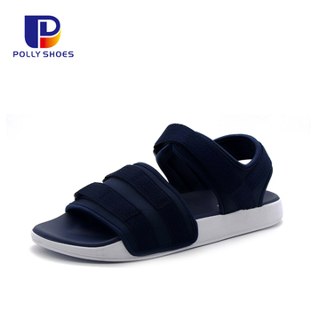 Custom Breathable Casual Shoe Thong Ankle Strap Summer Flat Sandals