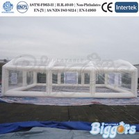 Commercial Inflatable Clear Lawn Tent For sale