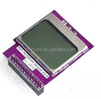 PCD8544 Shield V2.0 CPU/Memory Mini LCD Display Screen with Backlight 84*48 for Raspberry PI SMP01100