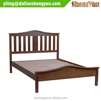 Manufacturers China Wooden Low End Bedroom Bedstead Design