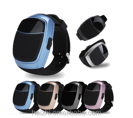 2017 hot sell outdoor Sports Bluetooth Smart Watch Speaker B90