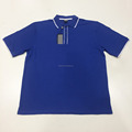 new design south africa blue men polo t shirt custom logo