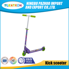 2017 Alibaba china manufacturer hot sale cheap price 2 wheel kids kick scooters for 4 year old boy