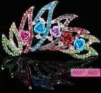 hair ornament fashion wholesale crowns and tiaras