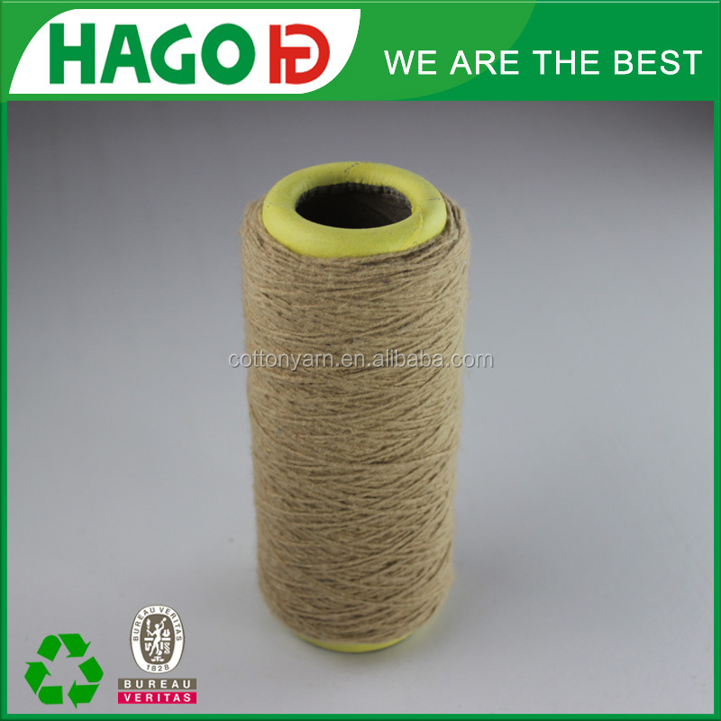 the moroco ne 0.5s-6s recycle cotton polyester yarn market import new material dust free mop combed yarn
