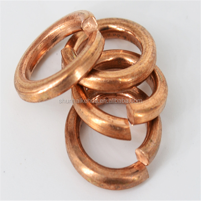 Direct factory produse Phosphor Bronze Spring Washers/Brass Spring Washers/Aluminum Spring Washers