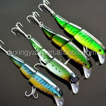 2015 dora new Artificial Bait colorful Ever catch section minnow fishing lures
