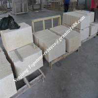 China marble polished 60x60 80x80 yellow subway tile