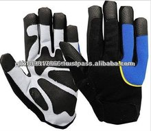 Hot Leathers Skeleton Mechanic Gloves