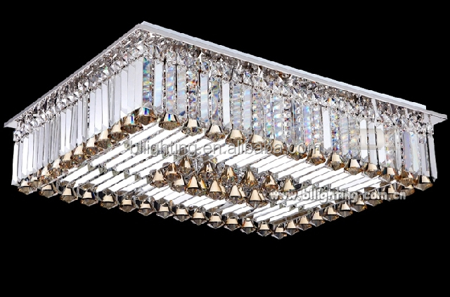Modern crystal ceiling light for house decoration tiffany style ceiling light