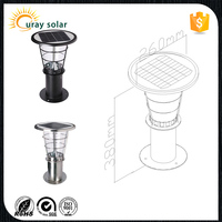 Top Selling Waterproof CE Led Outdoor solar post cap light wall mounting garden light
