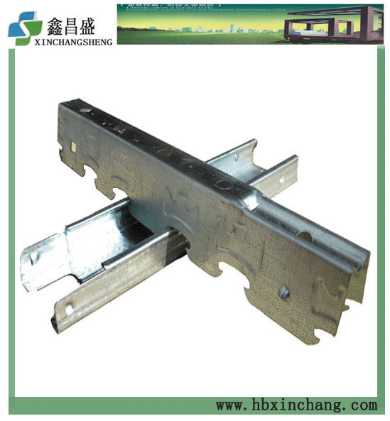 Galvanized building material metal clip runner bar