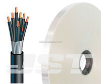 Polyester/Mylar/PET film for cable wrapped