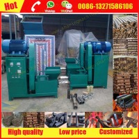 China professional rice husk hull charcoal briquette making machine with best price
