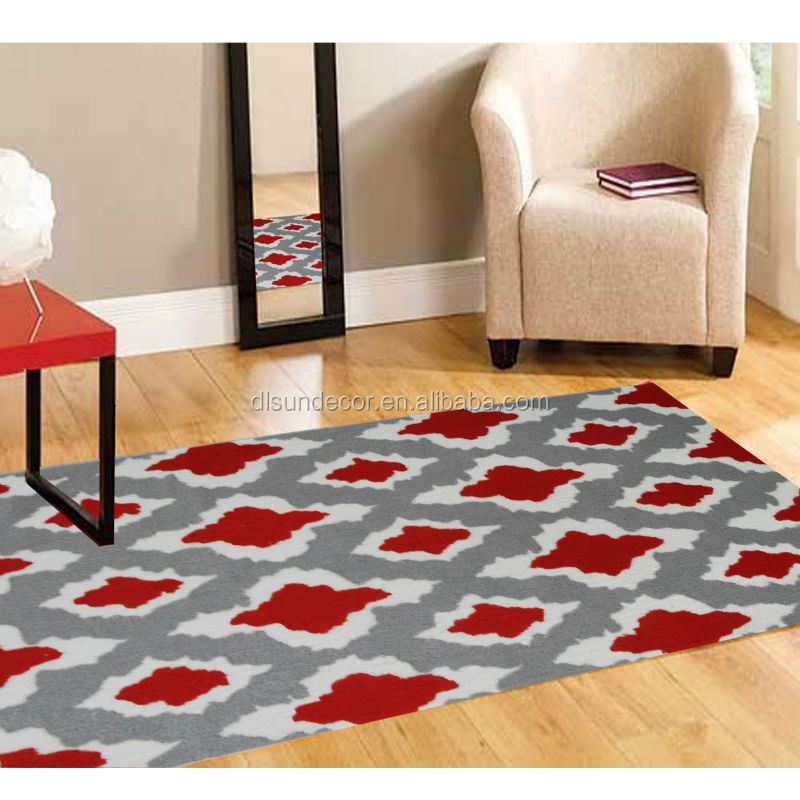 High quality new design polyester area rug