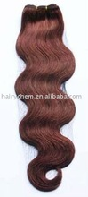 red Body Wave human Hair weave