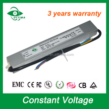 3 year warranty led strip light tranformer 12v constant voltage waterproof led driver 30w