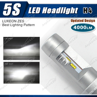 4000lm 5S h4 auto car LED toyota fielder camry angel eyes headlight bulb