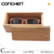 New design glasses sunglasses gafas box packaging case wooden with custom logo