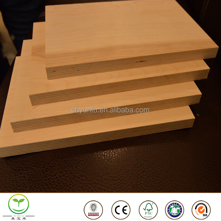 Fire retardant 9mm plywood for partition wall board