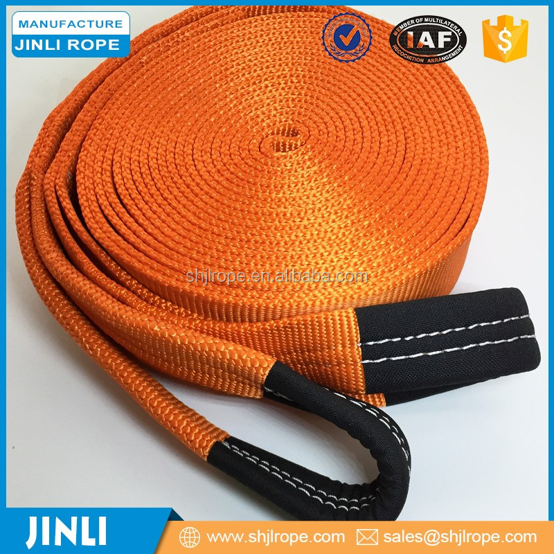 (JINLI ROPE) Nylon Snatch Strap/Rope for 4X4 VEHICLE RECOVERY