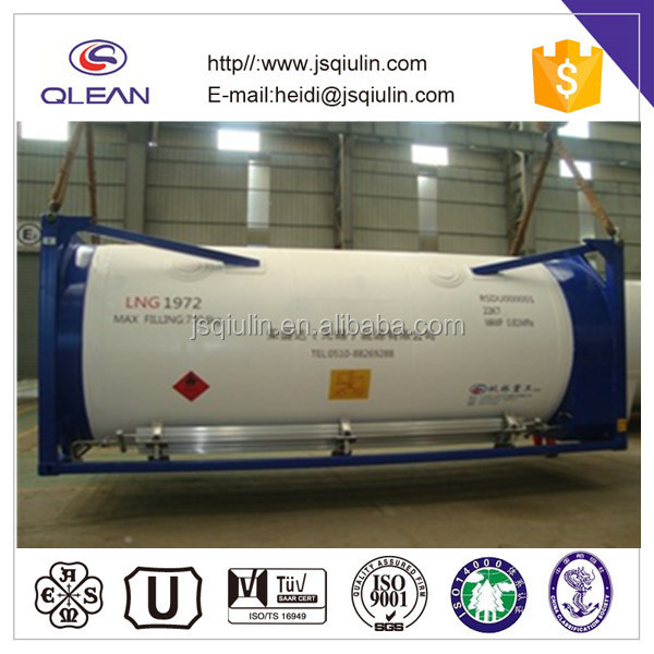 20ft Liquid Gas ISO Tank Container