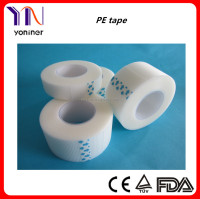Free sample medical pe adhesive plaster and surgical transparent tape with CE FDA certificate