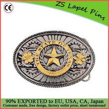 Personalized Texas Belt Buckle