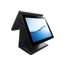 pos manufacturer 15 dual screen hot sell all in one pos systems