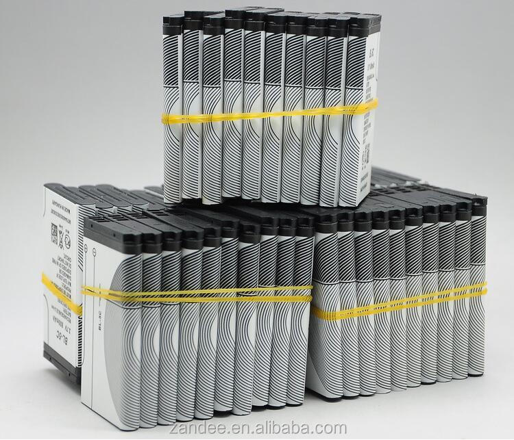 Batteries manufacturer 3.7v BL-5C Battery 600mah/650mah/800mah/1000mah for Nokia Mobile Phone