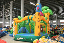 Inflatable bouncer combo/inflatable bounce house/inflatable bouncer with slide